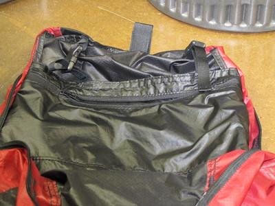 Interior Pocket for Water Bladder
