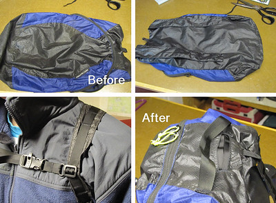 Day Pack Modification 2