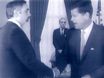 Dave meets JFK