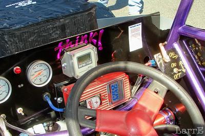 a busy sprint cockpit