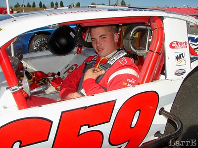 Danny Bohn is at home in a modified
