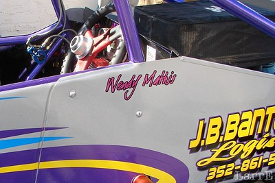 the Wendy Mathis sprint car
