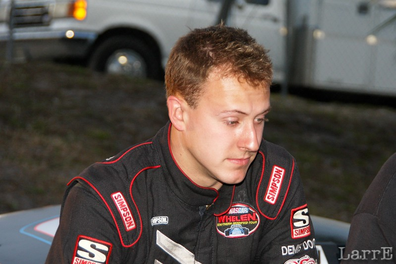 Daniel Hemric won the richest paying Legend race...$200,000 to win..in 2010