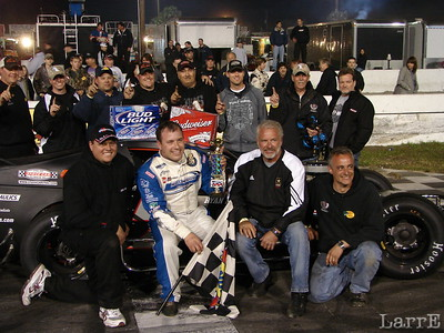 Ryan Newman wins the feature event at New Smyrna
