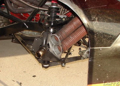 getting cool air to the right front brakes