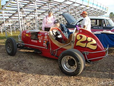 Jon Button of Chittenango, NY has this 1930's sprintcar