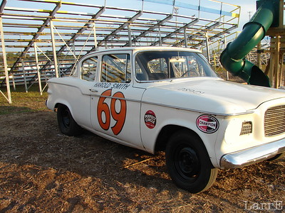 the vintage AMC racer of Harold Smith