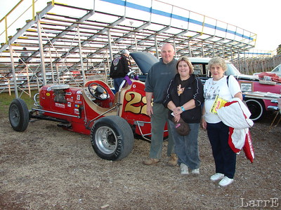 Grant and Tracey Victory are race fans from Redditch, England. Yolanda Brandl Sheridan raced at Freeport, Islip and Riverhead Speedways from 1956 to 1992