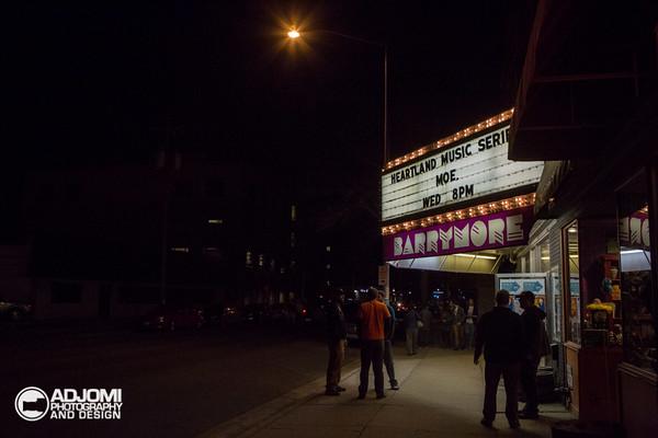 moe. Barrymore Theater 03.18.15
