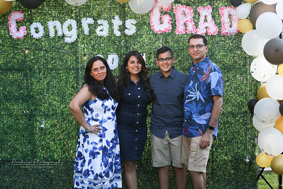 Moesha-Vrishank Graduation party