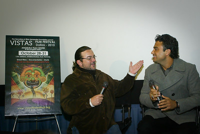 Alejandro Gonzalez and Jaime Camil  Regresa 2010 Vista Film Festival at Angelika Film Center Dallas Texas 103010 Copyright 2010 Photo by Jerry McClure