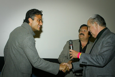 Jaime Camil Frank Hernandez Domingo Garcia 2010 Vista Film Festival at Angelika Film Center Dallas Texas 103010 Copyright 2010 Photo by Jerry McClure