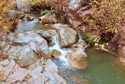East Verde River below Water Wheel Falls (2018)