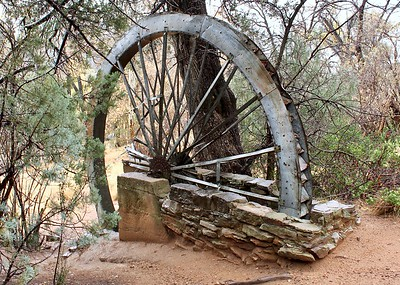 Historic Water Wheel by the East Verde River (2018)