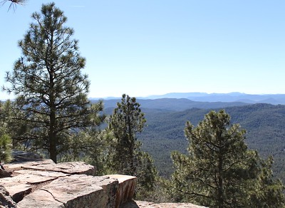 Looking southwest from the Mogollon Rim (2017)