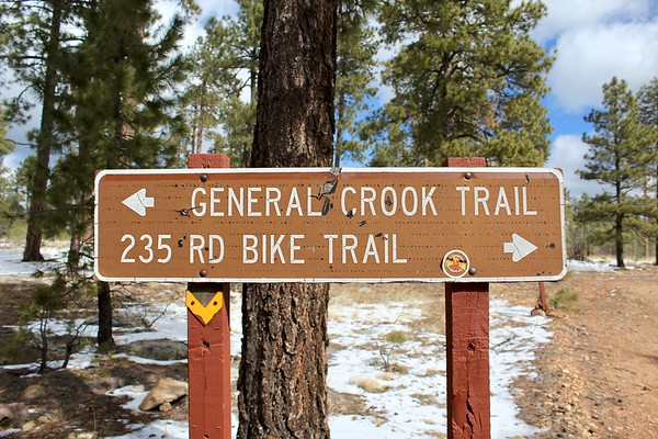 General Crook Trailhead near Highway 260 (2018)