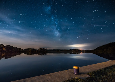 Milky Way over the Mohawk River