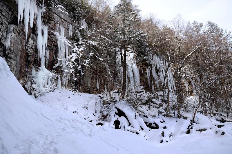 Stony Kill Falls in Winter