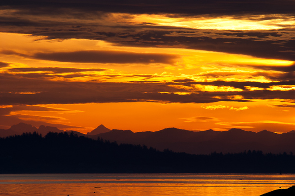 Sunset in Vancouver Island (BC, Canada)