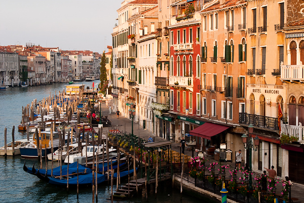The Grand Canal, Venice (Italy)