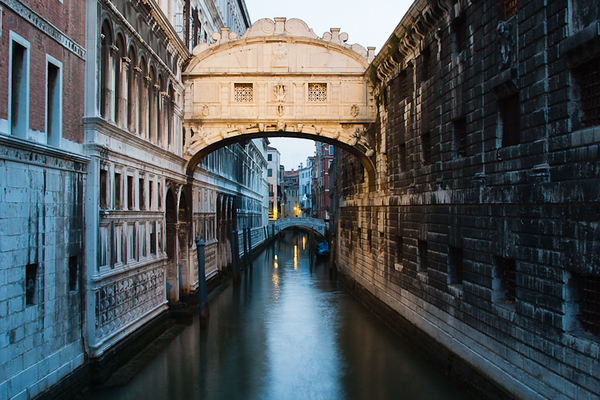 The Bridge of Sighs, Venice (Italy)