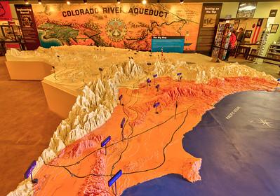 702 General Patton Memorial Museum - Metropolitan Water District of Southern California Aqueduct Map