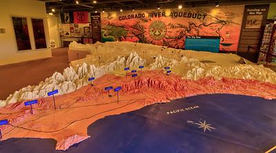 701 General Patton Memorial Museum - Metropolitan Water District of Southern California Aqueduct Map