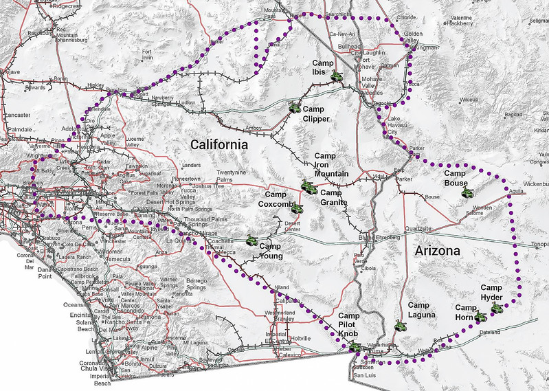 003 Desert Training Center / California-Arizona Maneuver Area -Courtesy Bureau of Land Management