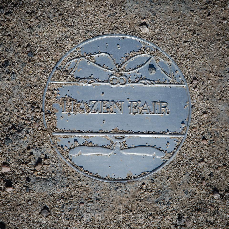 Hazen Bair. Husky Monument, Mojave Desert