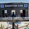 Barstow Car, Husky Monument, Mojave Desert