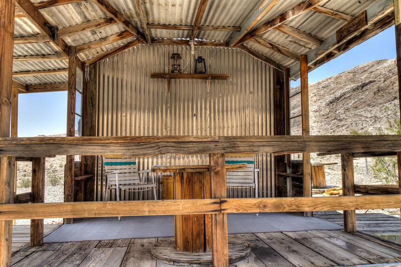 055 A Desert Cabin