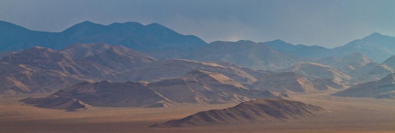 006 Grapevine Mountains across Sarcobbatus Flats