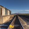Nipton, California.  Union Pacific Railroad siding for the Molycorp Mine.