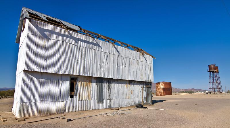064 Death Valley Junction, California - Old Tonopah & Tidewater Rail Yard