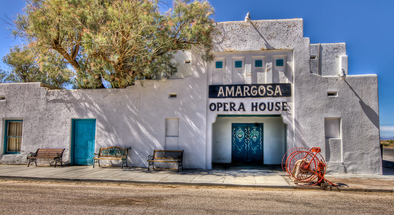 Amargosa Opera House, Death Valley Junction, California