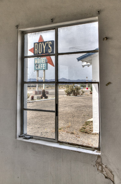168 Roy's Motel and Cafe on Route 66, Amboy, California.