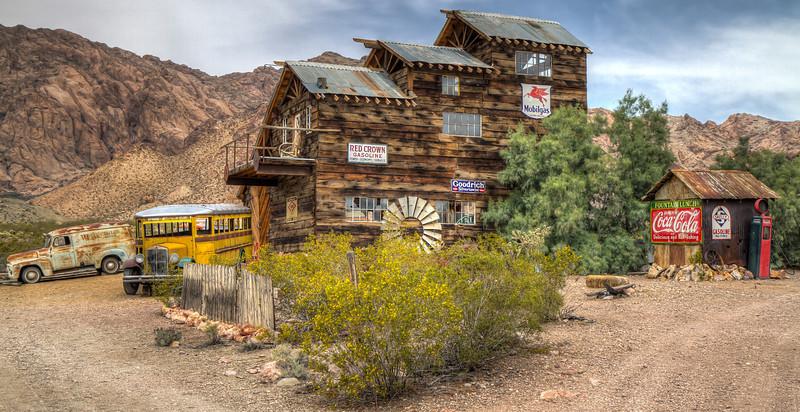 140 Techatticup Camp, est. 1861, Nelson, Nevada.
