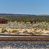 128 Cima, California. Founded circa 1906 as a railroad siding and commercial center for ranching and mining.