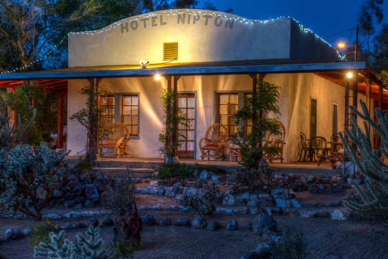 114 Nipton, California. Founded 1900.  Five room hotel built in 1910.