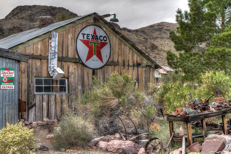 Techatticup Camp, est. 1861, Nelson, Nevada.