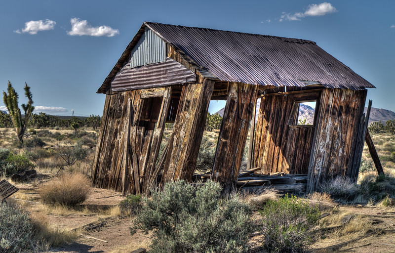 122 Cima, California. Founded circa 1906 as a railroad siding and commercial center for ranching and mining.