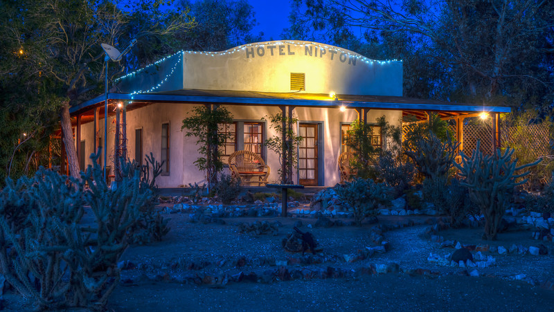 116 Nipton, California. Founded 1900.  Five room hotel built in 1910.