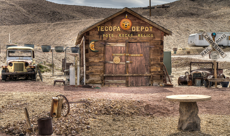081 Tecopa, California