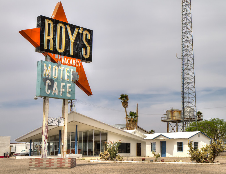 170 Roy's Motel and Cafe on Route 66, Amboy, California.