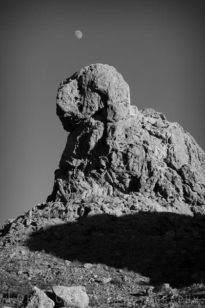 Moonrise, Trona Pinnacles