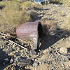 A melting crucible. We would eventually find a a couple dozen of unused crucibles.