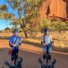 Segway tour around Uluru!