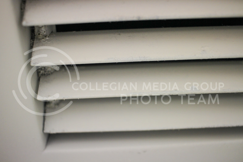 Students residing in Ford Residence Hall have been dealing with mold in the vents leading to various health concerns. (Sophie Osborn   Collegian Media Group)