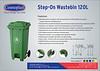 Step-On Waste Bin 120L Final Outlined