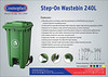 Step-On Waste Bin 240L Final Outlined